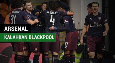 Berita Video Highlights Piala FA, Arsenal Kalahkan Blackpool 3-0