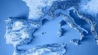 Kompleks vulkanik ditemukan di bawah Laut Tyrrhenian di lepas pantai Italia. (iStock)