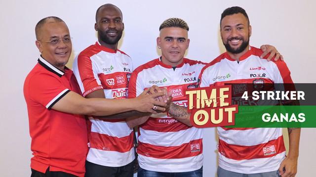 Berita video Time Out kali ini membahas 4 penyerang ganas di Madura United yang bersatu dalam satu klub.