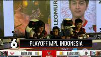 Pertandingan berlangsung sengit, Tim Alter Ego berhasil memulangkan Bridgerton Alpha, sementara Evos Legend gasak Aura Dire. Alter Ego siap menghadapi RRQ di MPL Indonesia hari ini.