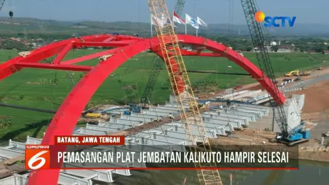 Direktur Waskita Toll Road Herwidiakto menjelaskan, dalam kondisi darurat Jembatan Kalikuto mampu menampung kendaraan pemudik hingga truk.