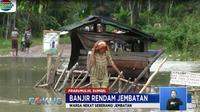 Sudah seminggu lebih banjir melanda kawasan Kelurahan Payuputat, Kecamatan Prabumulih Barat, Kota Prabumulih, Sumatra Selatan.