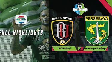 Bali United menelan kekalahan 2-5 kala menjamu Persebaya Surabaya dalam lanjutan Gojek Liga 1 2018 bersama Bukalapak, Minggu (18/11/2018)