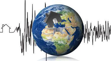 Ilustrasi lipsus gempa Nepal