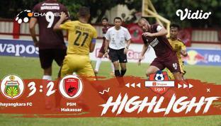 Babak Penyisihan #ShopeeLiga1 yang mempertemukan #Bhayangkara FC vs #PSM Makassar pada hari Selasa malam (29/10/2019) dengan skor ...
