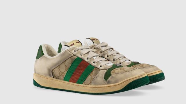 sepatu Gucci motif dekil (foto  Web Gucci) 53859092c1