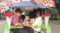 Sri Mulyani mengisi akhir pekannya bersama cucu mengunjungi Monas dan Ragunan (Dok.Instagram/@smindrawati/https://www.instagram.com/p/BvquTx8lzsV/Komarudin)