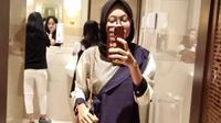 Vanya Pangkas Bobot 35 Kg dengan Konsumsi Madu Detoxlim. foto: istimewa