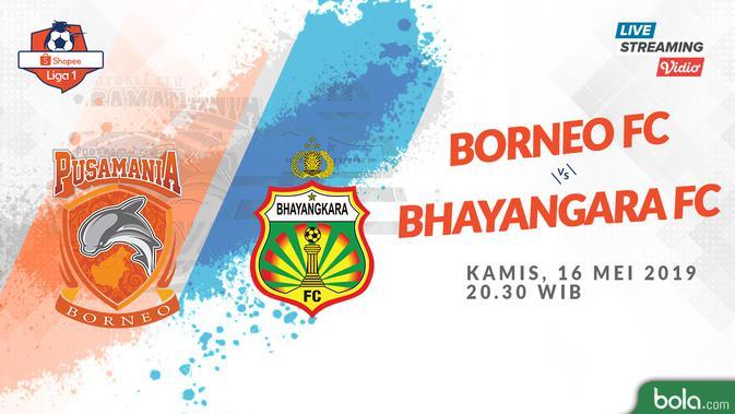Eksklusif Live Streaming Shopee Liga 1 di Vidio.com: Borneo FC Vs Bhayangkara FC - Indonesia Bola.com