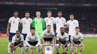 Legenda timnas Jerman, Lothar Matthaus, menilai timnas Inggris saat ini belum siap untuk Piala Dunia 2018. (Twitter/@England)
