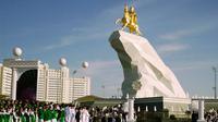 Ilustrasi negara Turkmenistan (AP/Alexander Vershinin)