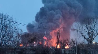 Langkah Pertamina Atasi Kebakaran Tangki Minyak di Balongan Indramayu