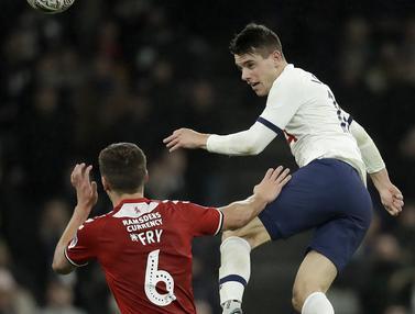 Gasak Middlesbrough, Tottenham Lolos ke Babak 32 Besar Piala FA
