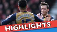 Video highlights Premier League antara Bournemouth melawan Arsenal yang berakhir dengan skor 0-2, Minggu (7/2/2016) WIB.
