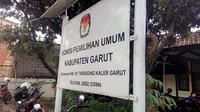 Kantor KPUD Garut Jalan Suherman, Tarogong, Garut (Liputan6.com/Jayadi Supriadin)