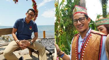 6 Gaya Liburan Sandiaga Uno Keliling Indonesia, Menteri Parekraf Baru