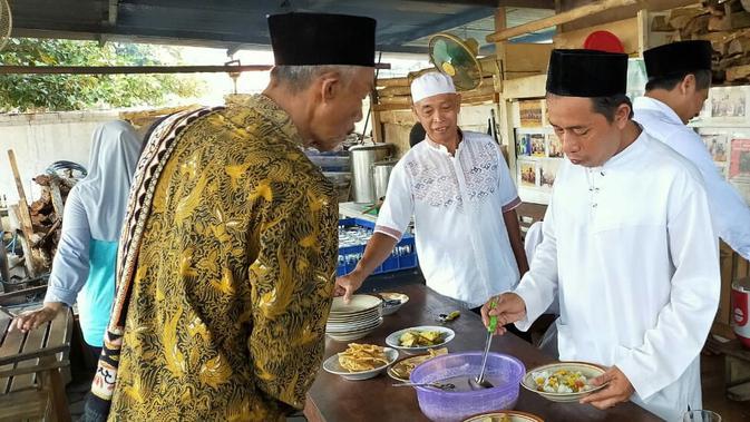 Lodeh tujuh rupa jadi tradisi masyarakat Yogyakarta untuk menolak bala (Liputan6.com/ Switzy Sabandar)
