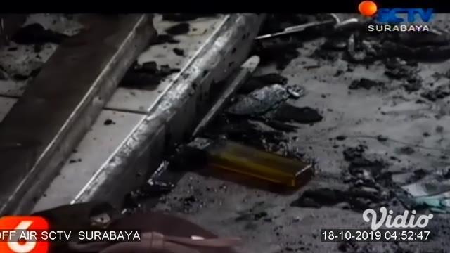 Maspuryanto (45), pembakar istri di rumah kos Jalan Ketintang Baru II Surabaya, berhasil ditangkap. Pria yang sehari-hari penjual juice di Royal Plaza ini, ditangkap setelah kabur usai membakar Putri Narulita (19), Selasa (15/10) pagi.