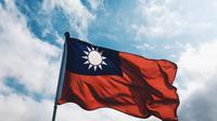 Ilustrasi bendera Taiwan (unsplash)