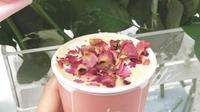 Salah satu rasa kopi tak biasa yang ada di Jakarta adalah berasa bunga. (dok. Instagram @fore.coffee/https://www.instagram.com/p/BuBRhTWBmwA/Dinny Mutiah)