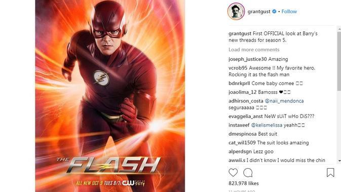 Gara-gara Kostum Baru, Pemeran Serial The Flash Kecipratan Body Shaming