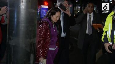 CFO Huawei Meng Wanzhou dibebaskan dari tahanan dengan uang jaminan senilai Rp 109,4 Miliar. Meski demikian, Meng berada dalam pengawasan ketat otoritas Kanada.