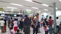 Suasana Stasiun Pasar Senen, Jakarta (Dok Foto: Wilfridus Setu Embu/Merdeka.com)