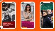 Fitur Visual Stories cara baru penyajian berita dengan tampilan menarik.