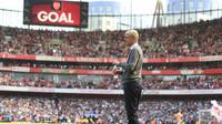 Arsene Wenger akan mengakhiri kebersamaannya dengan Arsenal pada akhir musim 2017-18. (doc. Arsenal FC)