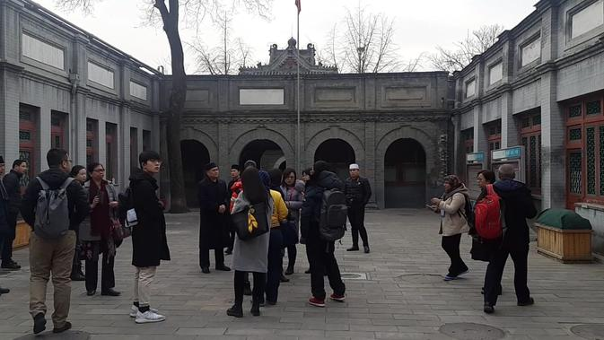 Masjid Dongsi di Beijing (Rizki Akbar Hasan / Liputan6.com)