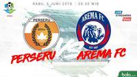 Liga 1 2018 Perseru Serui Vs Arema FC (Bola.com/Adreanus Titus)