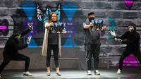 Acer berkolaborasi dengan Darbotz, seniman mural ternama di Indonesia yang karyanya juga diakui dunia. Dok: Acer Indonesia