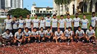 23 pemain Timnas Malaysia untuk Piala AFF 2018. (Bola.com/Dok. FAM)