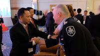 Kapolri Jenderal Pol Tito Karnavian saat menghadiri acara The 4th Annual Counter-Terrorism Financing Summit 2018 di Bangkok. (Liputan6.com/Nafiysul Qodar)