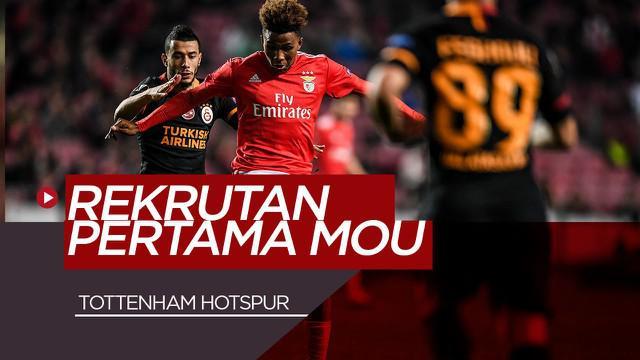 Berita Video Jose Mourinho Dapatkan Gedson Fernandes, Pemain Muda Potensial Asal Portugal