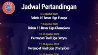 UEFA - Jadwal Pertandingan Liga Champions dan Liga Europa (Bola.com/Adreanus Titus)