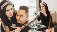 Sally Adelia dan Bayu Murti Hartono (Sumber: Instagram/sallyadelia/alexabelvanaquinn_official)
