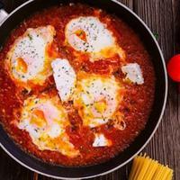 Telur Goreng Saus Tomat. foto: dana tentis/pexels.com