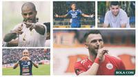 Kolase - 5 Pemain: Marko Simic, Wander Luiz, David da Silva, Elias Alderete, Bruno Silva (Bola.com/Adreanus Titus)