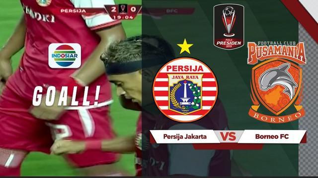 Berita video gol yang dicetak Bruno Maitos usai mengelabui para pemain belakang Borneo FC di Piala Presiden 2019.