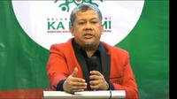 Presiden Keluarga Alumni (KA) Kesatuan Aksi Mahasiswa Muslim Indonesia (KAMMI) Fahri Hamzah. (Merdeka.com)