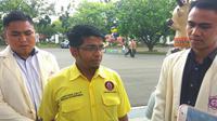 Pimpinan Nasional Perhimpunan Pemuda Hindu (DPN Peradah) Indonesia, Sures Kumar usai bertemu Presiden Jokowi (Merdeka.com/ Intan Umbari)