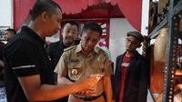 Peresmian kampung wirausaha online Bukalapak di Kabupaten Blitar. Liputan6.com/Dian Kurniawan