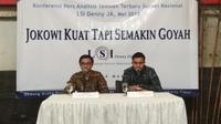 LSI Denny JA merilis survei terbaru terkait Pilpres 2019