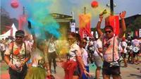 Lomba lari The Color Run. (dok.Instagram @r4c_runmate/https://www.instagram.com/p/Bn0iy1ThpZp/Henry)