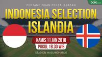 Indonesia Selection Vs Islandia (Bola.com/Adreanus Titus)