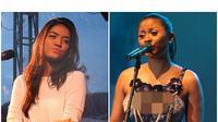Meski penyanyi, Dira Sugandi dan Monita jajal kemampuan akting lewat drama musikal yang mereka lakoni.