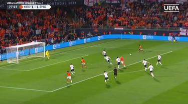 Berita Video Highlights UEFA Nations League, Belanda Vs Inggris 3-1