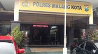 Seorang oknum anggota Polres Malang Kota dilaporkan karena dugaan kasus penggelapan mobil (Liputan6.com/Zainul Arfin)