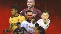 PSM Makassar - Ilustrasi Bintang PSM Makassar (Bola.com/Adreanus Titus)